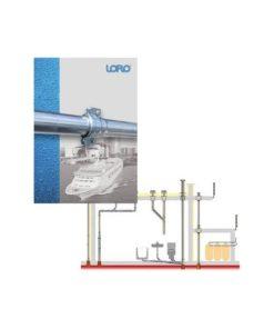 sies LORO-X jekleni odtočni sistemi za ladje
