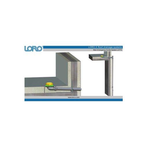 LORO-X SCUPPER odtočni sistemi iz jekla