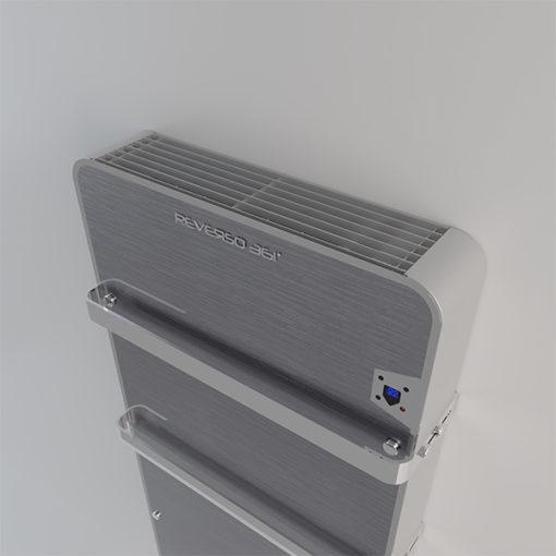 ZEFIRO BATH kopalniški ventilatorski konvektor